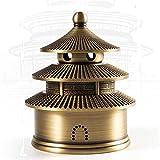 youjiu Decorativi Ornamenti Soprammobili Sopramobiledecorazioni per La Stanza della Stufa in Legno di Sandalo della Casa per Il Soggiorno della Cerimonia del tè di Buddha