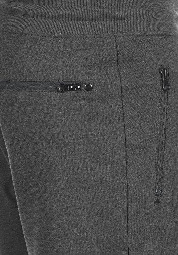 SOLID Taras Herren Sweat-Shorts kurze Hose Sport-Shorts aus hochwertiger Baumwollmischung Dark Grey Melange (8288)