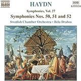 Haydn - Symphonies Vol 27