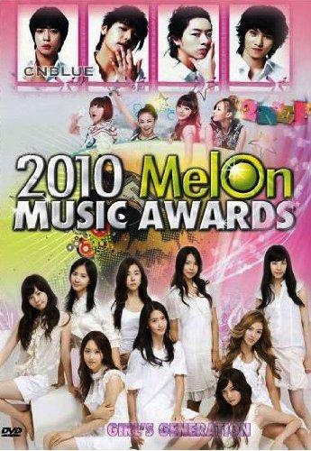 2010 Melon Music Award (Korean pop music, 2 DVD) by CNBLUE (Cnblue Dvd)