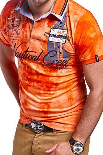 MT Styles Poloshirt PP-NAUTICAL R-2976 Orange