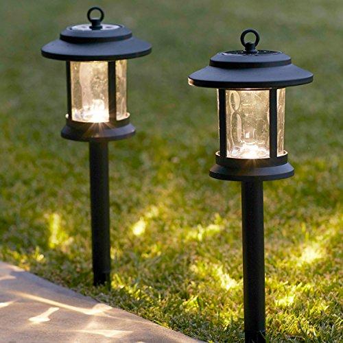 Lights4fun 6er Set Solar Laternen Stableuchten Garten Tischleuchte