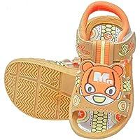 VIL Unisex Kids Chu Chu Sound Musical First Walking Sandals for Baby Boys & Baby Girls