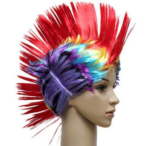 free-shipping-halloween-dance-party-fake-comb-hair-color-fiesta-de-baile-de-halloween-color-de-pelo-