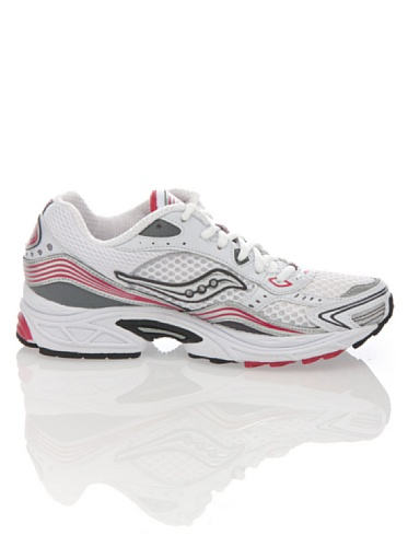 SAUCONY GRID FUSION 3 LC (WHITE/PINK, 37.5) White/Pink
