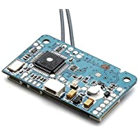 LITEBEE Flysky X6B Mini Receptor 6 Canales PPM Output with i-Bus PWM AFHDS 2A System Bidirectional RC Receiver Compatibile Flysky i4 i4x i6 i6s i6x i10 RC Transmisor for FPV Racing RC Drone