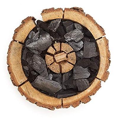 Verico Einweggrill Einmal Holzkohle Grill Eco Größe M 16-20 cm - 4 Stück