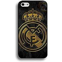 iPhone 6/6s (4.7inches) FC carcasa de silicona, Real Madrid Logo iPhone 6/6s (4.7inches) móvil, Real Madrid Funda Móvil