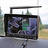 Funk Kamera Set für Pferdeanhänger 12V - 24V Überwachungssystem Funksystem Rückfahrkamera Rückfahrsystem CM-FRFS2
