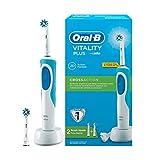 Oral-B Vitality Plus Şarj Edilebilir Diş Fırçası Cross Action + 1 Yedek Başlık