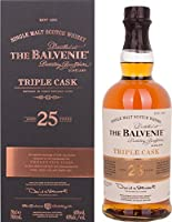 Balvenie 25 Year Old Triple Cask Single Malt Whisky by Balvenie