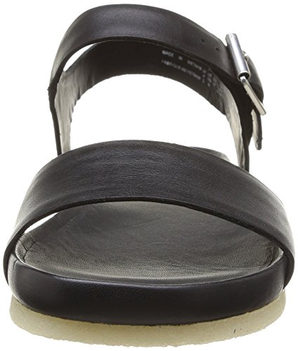 Clarks Originals Dusty Soul, Sandales femme Noir (Black Leather)