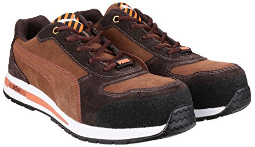 Puma fusible Mens Barani basse sécurité botte de travail brown