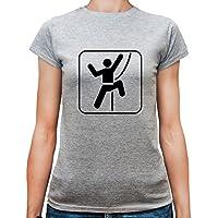 T-shirt da donna con Scalatore