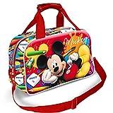 Karactermania Mickey Mouse Crayons-Sports Bag Sac de Sport Enfant, 38 cm, Rouge (Red)