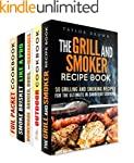 Grill and Smoker Box Set (5 in 1): Th...