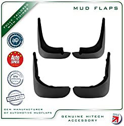 Genuine Hitech Mudflaps (Set Of 4)