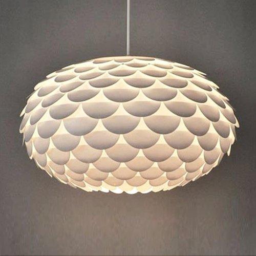 designer lighting. modern designer white armadillo artichoke ceiling pendant light shade lighting