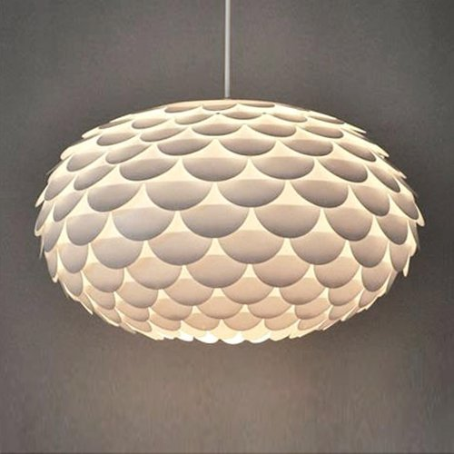 Modern Designer White Armadillo / Artichoke Ceiling Pendant Light Shade & Designer Lighting: Amazon.co.uk azcodes.com