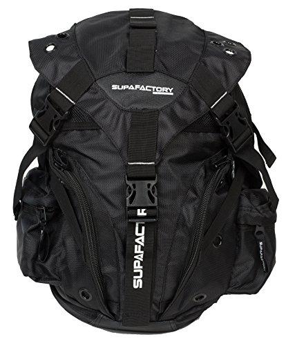 Mochila Supafactory / Petate para Motocicleta, Senderismo, Ciclismo, Deportes de Exterior (Supa-Rk-02))
