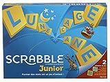 Scrabble Junior, Jeu de Société et de Lettres pour Enfants dès 6 ans, Version Française, Y9668...