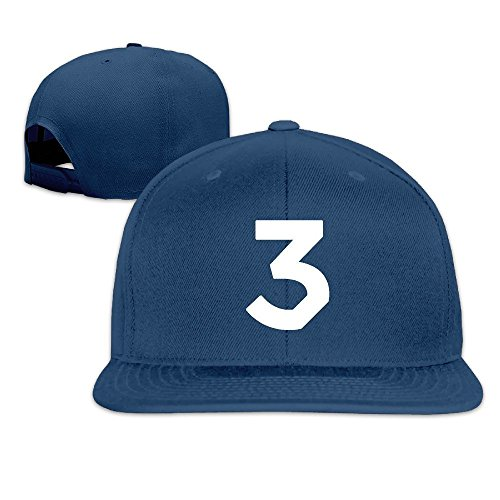John Deirdre Adult Chance The Rapper No.3 Coloring Book Flat Bill Baseball Cap Unisex