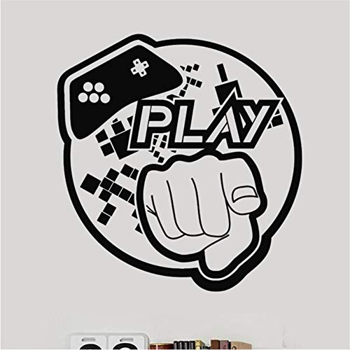d Video Game Sticker Spielen Spielzimmer Aufkleber Gaming Poster Gamer Vinyl Wandtattoos   Dekor Wandbild Video Game Sticker ()