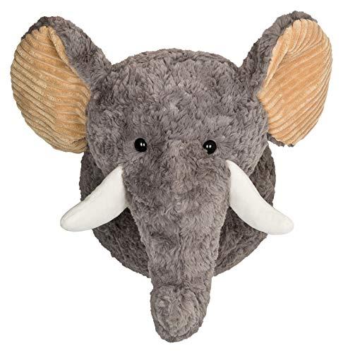 your castle de Peluche süßer Elefante Elfie para Acariciar-Pared Decorativa Animales Cabeza Trofeo para habitación de los Niños Familias Hotel Guardería