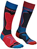 Ortovox Damen Ski Rock 'n' Wool Socken, Night Blue, 42-44