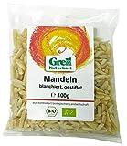 Grell Naturkost - Bio Mandeln gestiftet - 100g