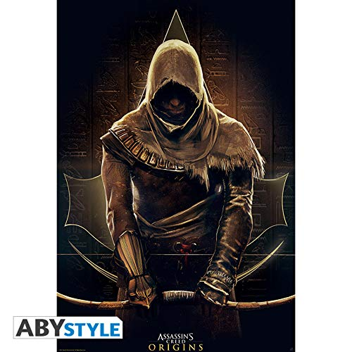 ABYstyle Abysse Corp _ abydco468Assassin 's Creed-Poster Origins (91,5x 61)