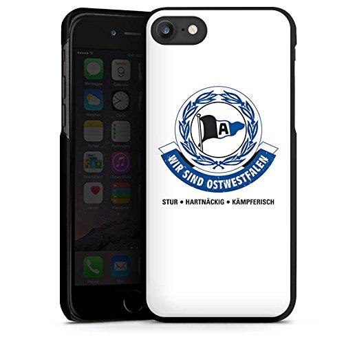 Apple iPhone X Silikon Hülle Case Schutzhülle Arminia Bielefeld Fanartikel Fussball Hard Case schwarz