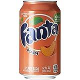 Fanta Peach Canettes 12 x 35 cl