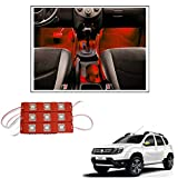 #10: Vheelocityin 9 LED Custom Cuttable Car Red Light for Interior/ Exterior For Nissan Terrano