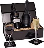 Prosecco & Red Wine Gift Hamper - The Perfect Gift For A Birthday, Anniversary or Just to Make Someone Feel Special