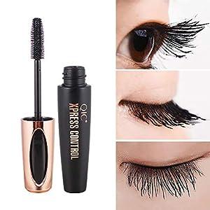 Beito 1 UNID 4D Fibra de seda eyeLash Mascara espesamiento y alargamiento de rímel Mascara impermeable de larga duración Maquillaje de ojos con encanto Curling Aplicador de pestañas
