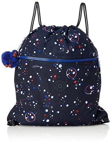 Kipling - SUPERTABOO - Schwimmtasche - True Blue - (Blau) Galaxy Party