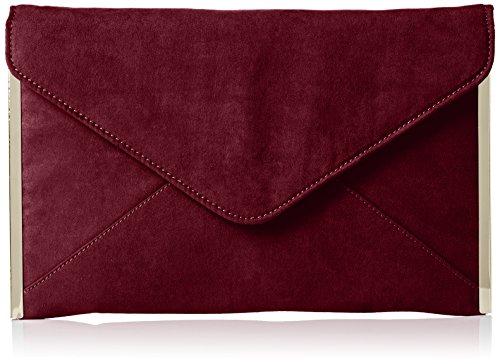 SwankySwans - Borsetta senza manici donna, rosso (burgundy), Taglia unica burgundy