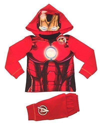 Marvel avengers iron Man Pyjama Jungen 7-8 jahre (Pyjamas Jungen Pjs 2 Stück)