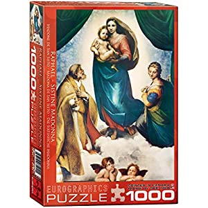 Eurographics - Rompecabezas Raphael, Tortugas Ninja, 1000 Piezas (EG60001211)
