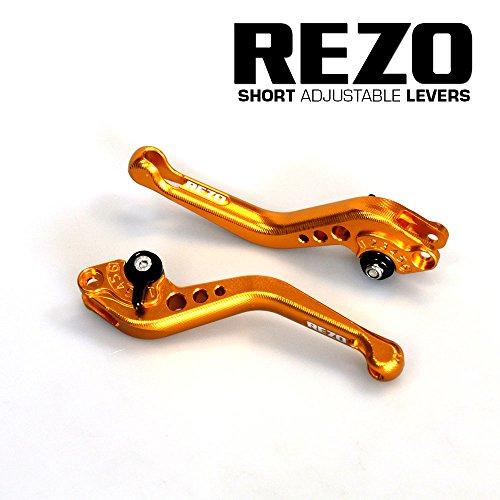 Rezo rez-setv2–0-gld-0039V2corto regolabile leve moto CNC per KTM RC8, oro
