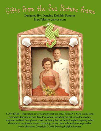 Gifts From the Sea Picture Frame: Plastic Canvas Pattern (English Edition)