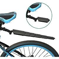 Garde-Boue, OUTERDO Garde-Boue Arrière de Vélo Aile VTT en Plastique Télescopable Protecteur Montage Rapide Ajustable Noir