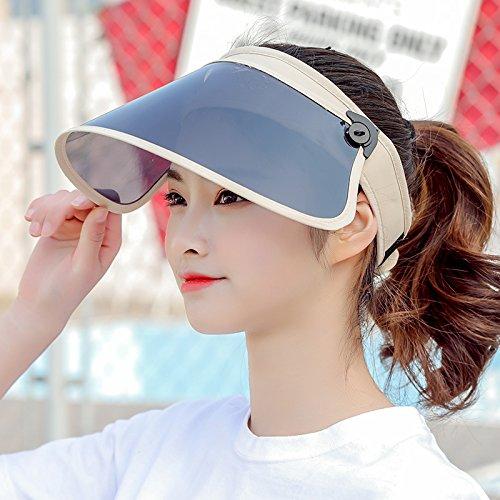 HZH-Visier Hat HZHsun - hut outdoor - radfahren sun helmet anti - uv - falten farbe die gemeinkosten sun helmet. q