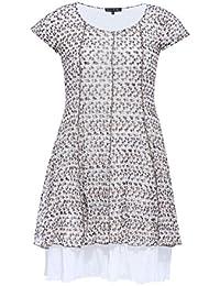 Blee Klum RAVIVA - Robe - Grande Taille - Imprimée - Made in France - Femme