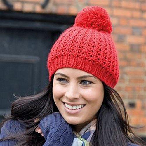 Chapeau de flûte tricoté