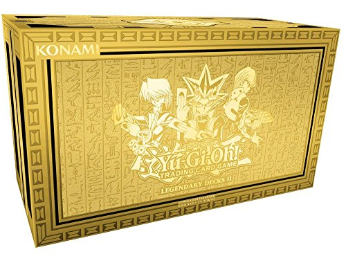 Yu-Gi-Oh! 116687520001 - Trading Card Game, Yugis Legendary Decks II, Deutsch (Trading Card Game-deck-boxen)