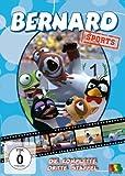 Bernard Sports - Die komplette 3. Staffel (Eps. 105 - 156) [2 DVDs] - Bernard der Eisbär, Zack die Echse, Lloyd der Pinguin
