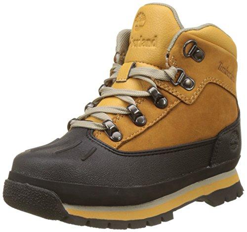 Timberland Unisex-Kinder Euro Hiker Chukka Boots, Braun (Wheat), 35 EU