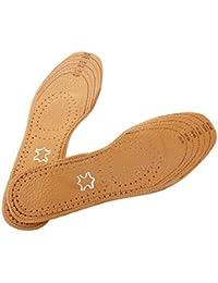LEORX PU Tailorable Unisex transpirable plantilla zapato Pad inserta -1 par